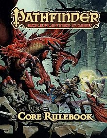 Pathfinder RPG Core Rulebook cover