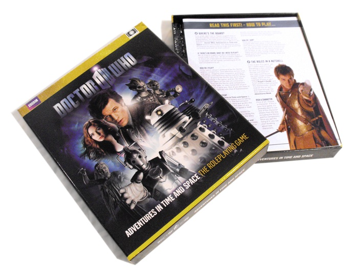 Doctor Who: Adventures In Time and Space RPG Review Similar to FateCore?