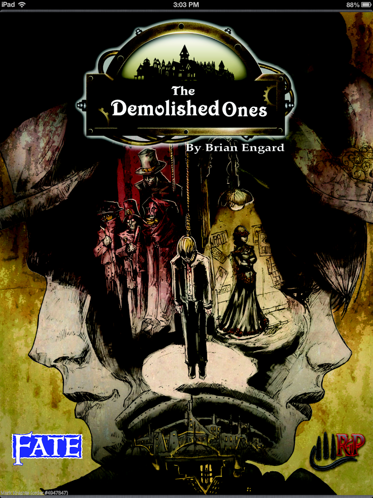 The Demolished Ones FATE Game by Brian Engard