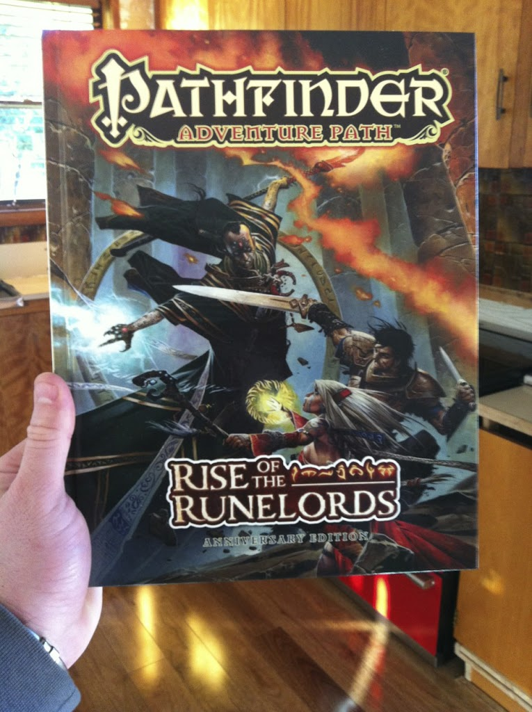 Rise of the Runelords Game Yesterday!