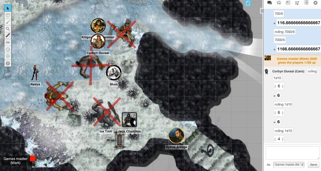 Reviewing the Virtual Tabletop: Roll20
