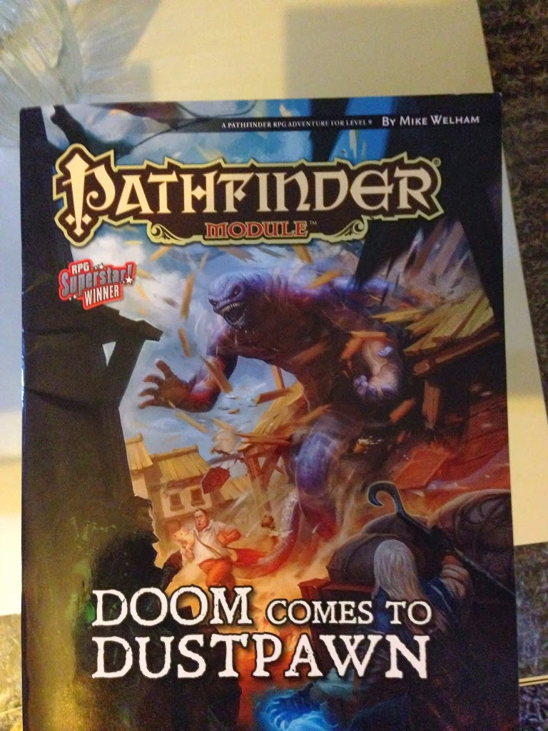 Doom Comes to Dustpawn: Pathfinder Module Review