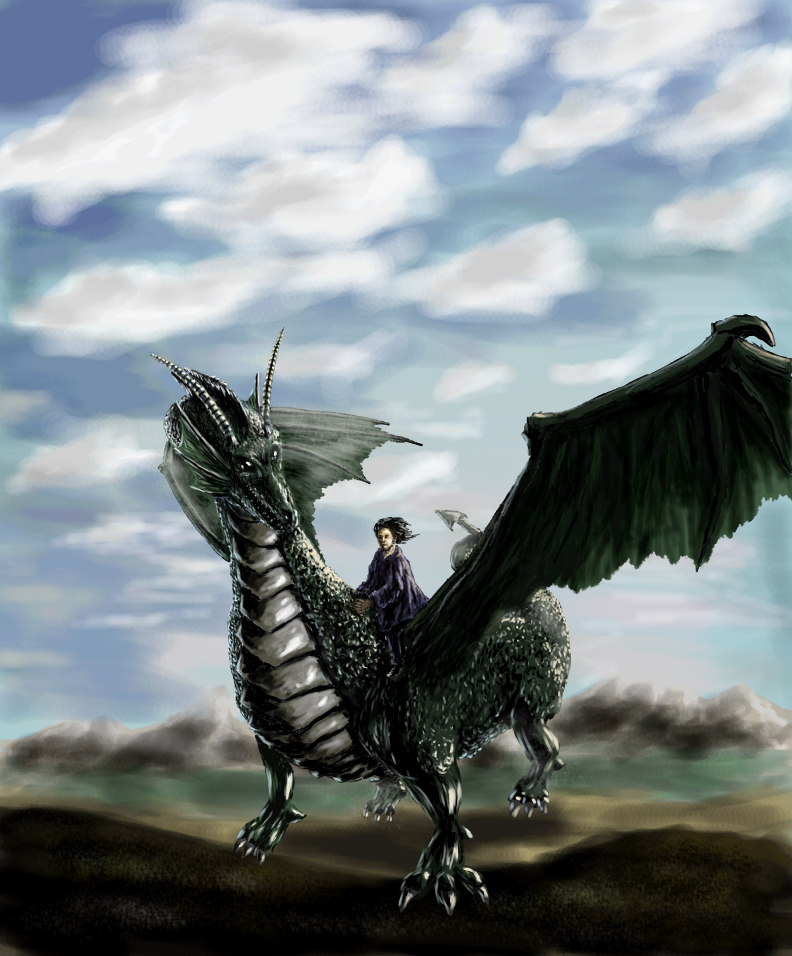 Lords of Gossamer and Shadow NPCs: Geilrod Dragon Rider