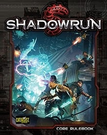 Shawdowrun 5th edition cover