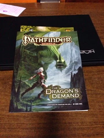 Pathfinder Module Review: The Dragon's Demand
