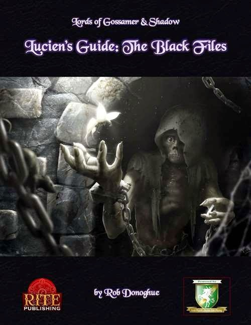 Reviewing Lords of Gossamer and Shadow: Lucien's Guide: The Black Files