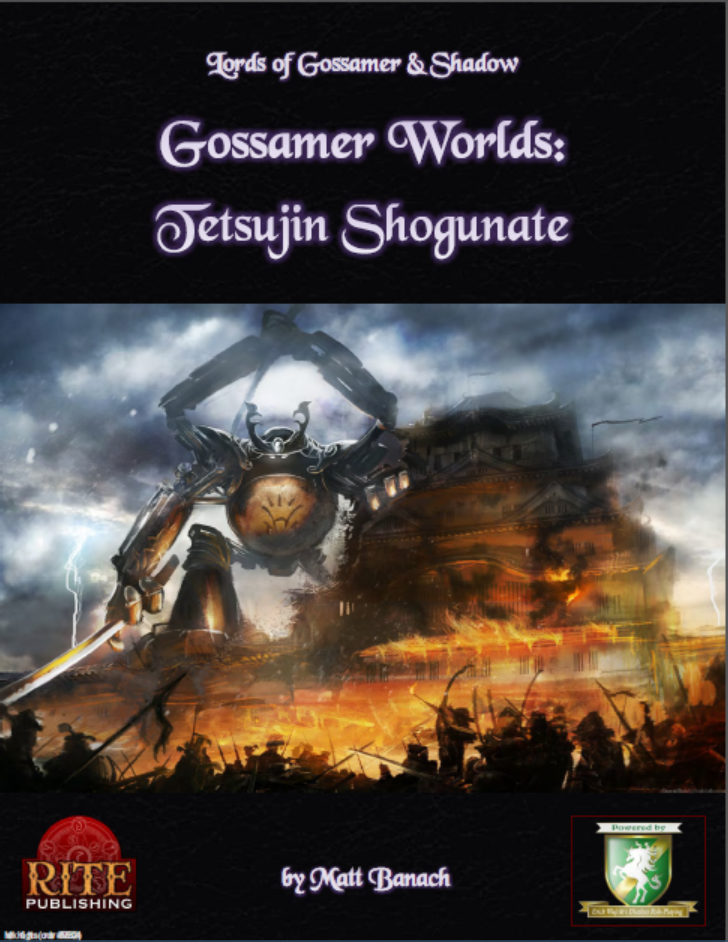 Reviewing Lords of Gossamer and Shadow Worlds: Tetsujin Shogunate