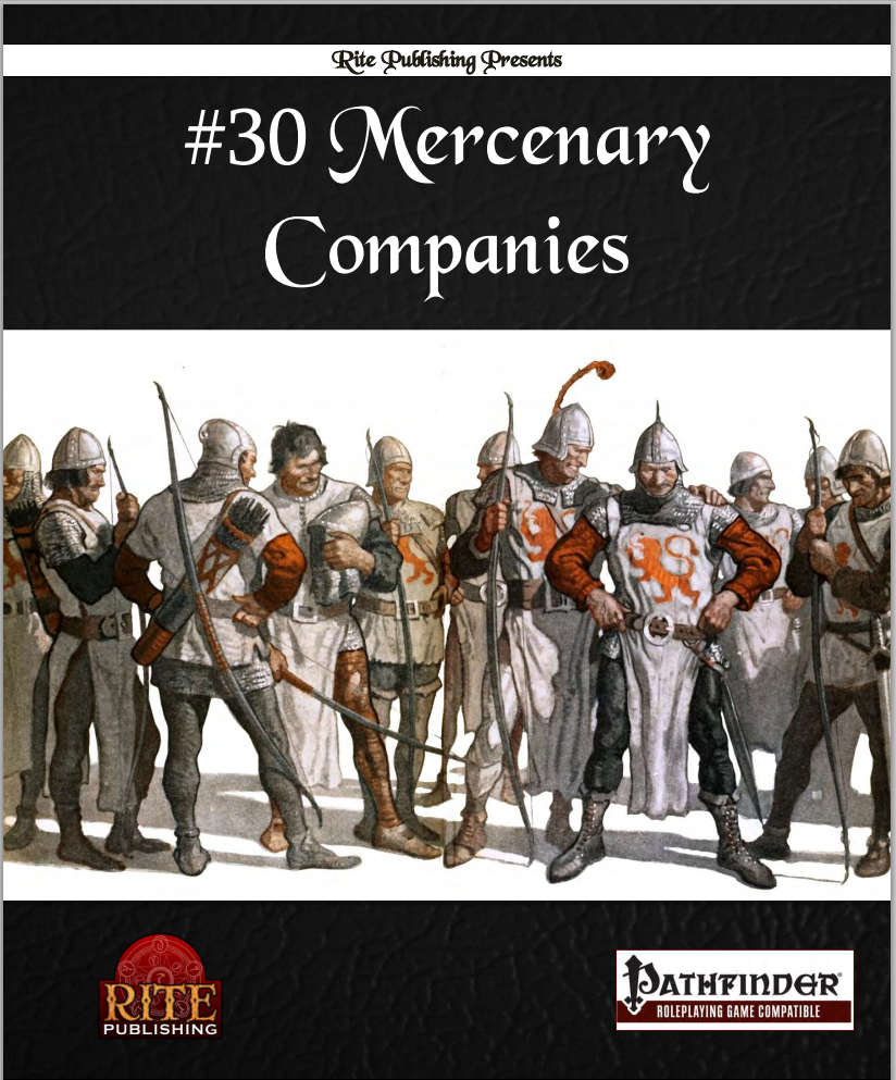 Reviewing 30 Mercenary Companies