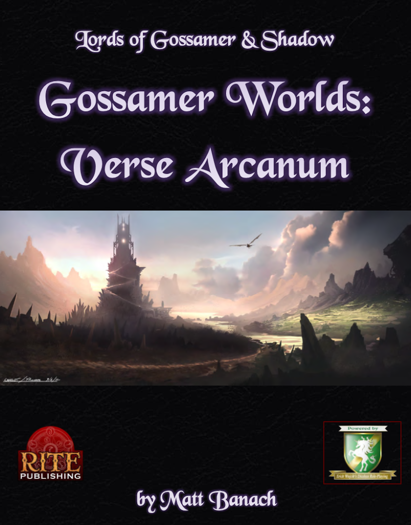 Reviewing Lords of Gossamer and Shadow Gossamer Worlds: Verse Arcanum
