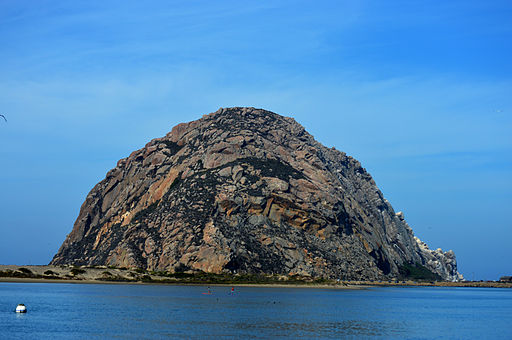 Morro Rock (By Jeff Krause  via Wikimedia Commons)