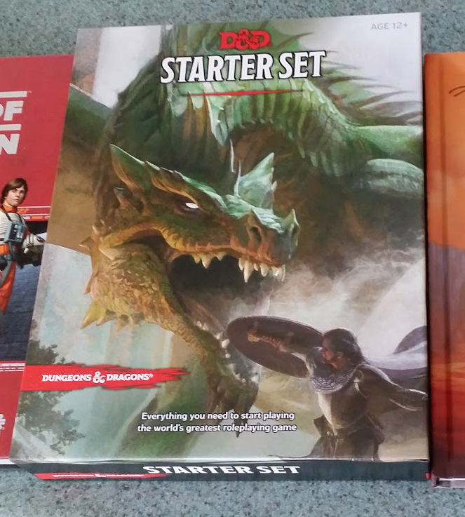 The Starter Set D&D Boxed Set