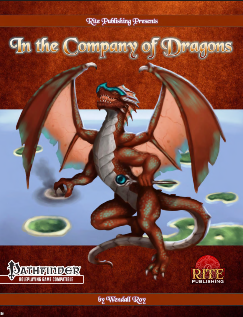 Cover of the In the Company of Dragons book