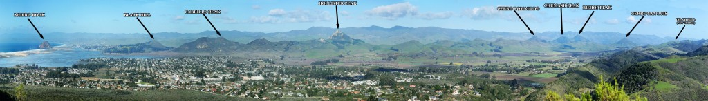 Labeled_Panorama_of_the_9_Sisters_in_San_Luis_Obispo,_California