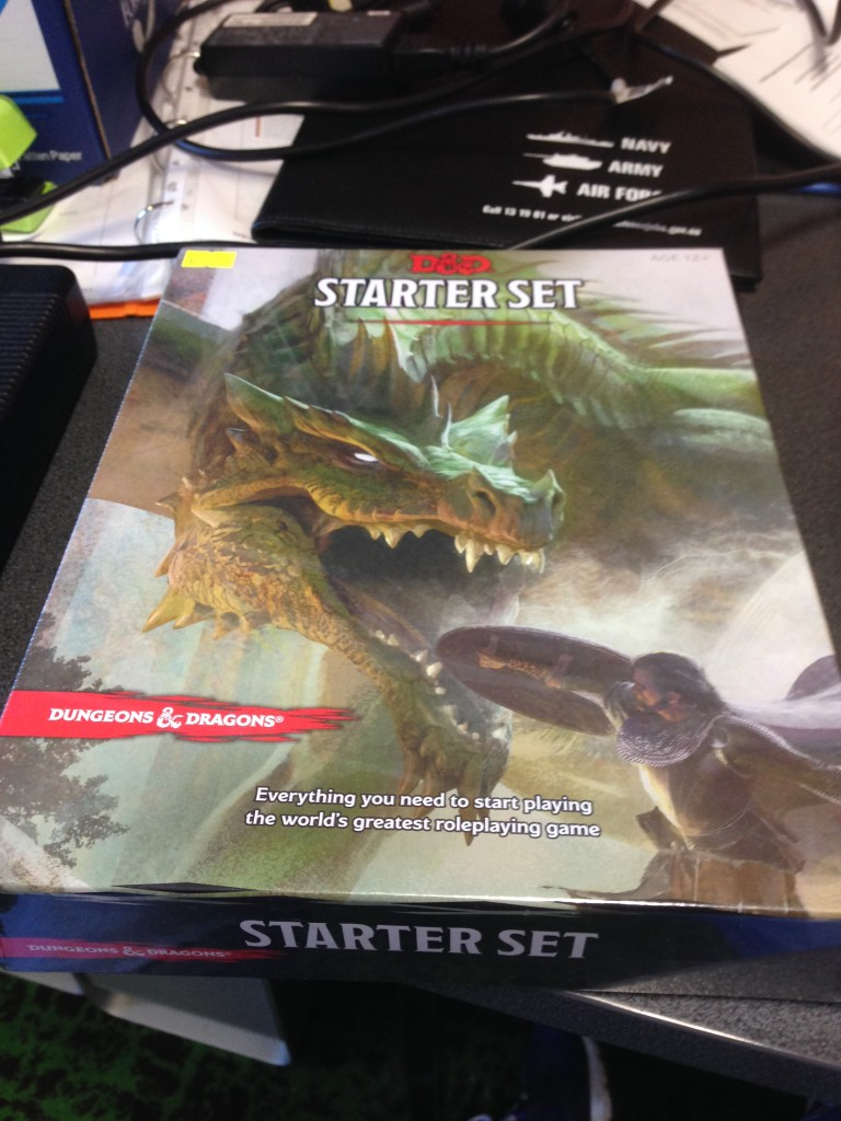 5th Edition DnD Starter Set box image