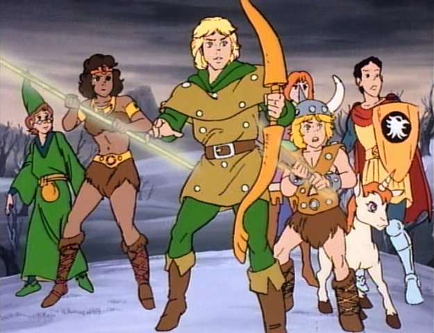 RPG Club D&D cartoon