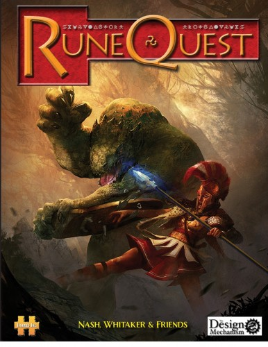Cover of Runequest stereotype