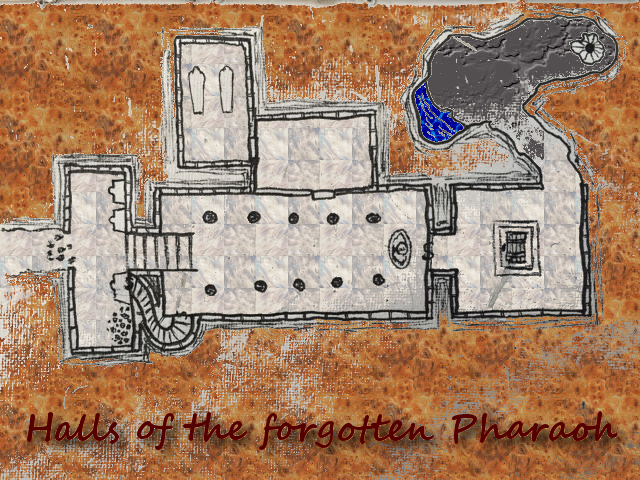 forgotten pharaoh map