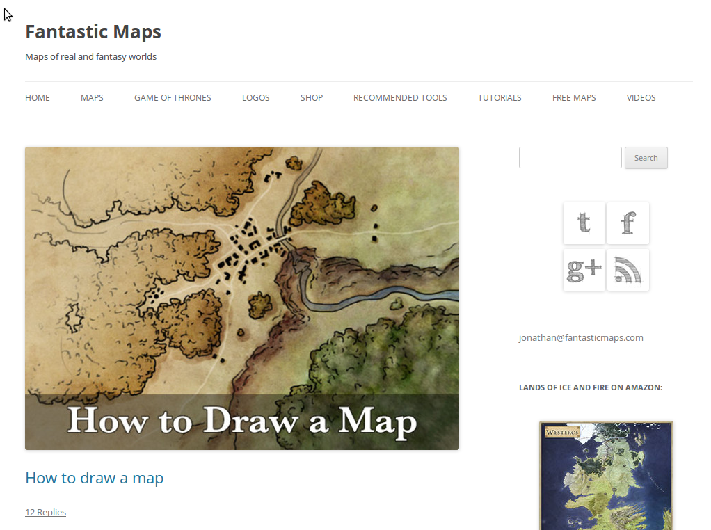 fantastic maps blog