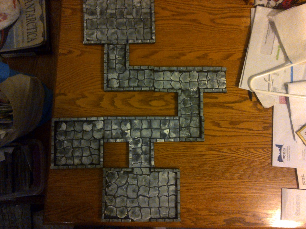 Wow that is a lot of Dungeon Tiles