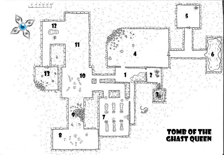 free adventure Tomb of the Ghast Queen