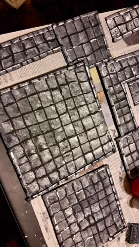 Homebrew Dungeon Tiles
