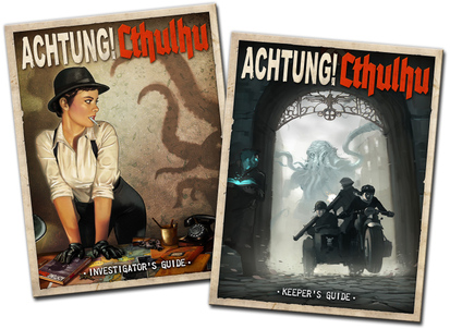 Achtung! Cthulhu, Fate Edition - Mechanic Makes Mood