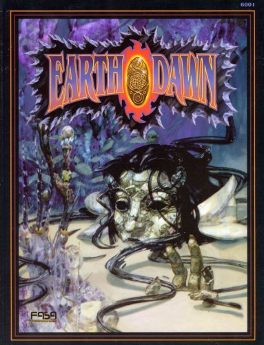 cover of the hardback first edition earthdawn book