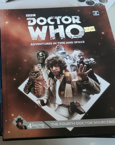 Doctor Who Adventures in Time and Space Fourth Doctor Sourcebook
