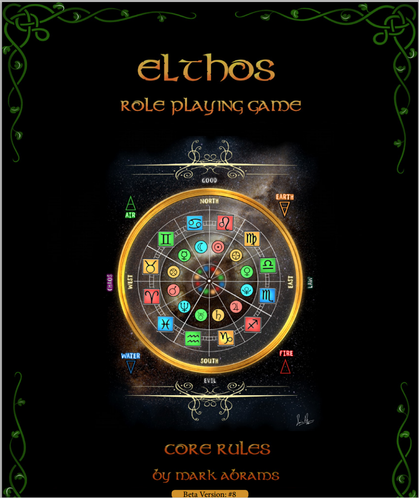 Cover of Elthos Beta rules
