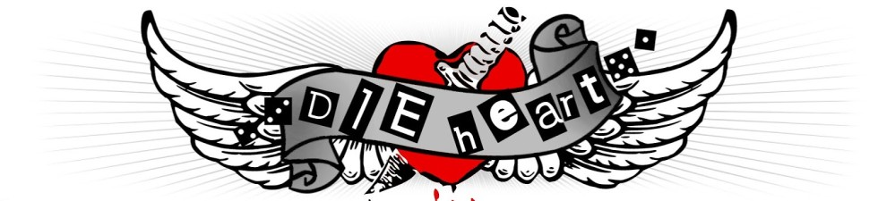 Web banner of dieheart.net