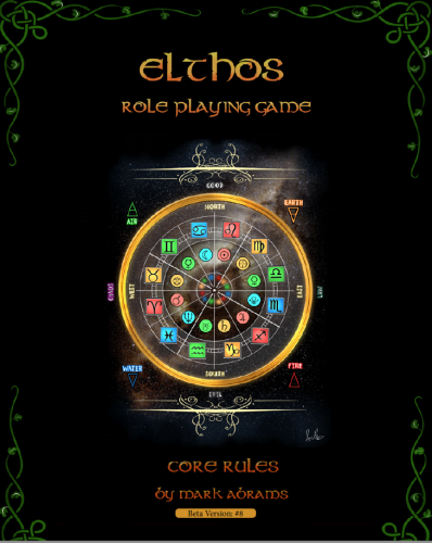 Cover of the Elthos PDF rules by Mark Abrams