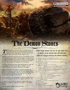 Promo for Demon Stones