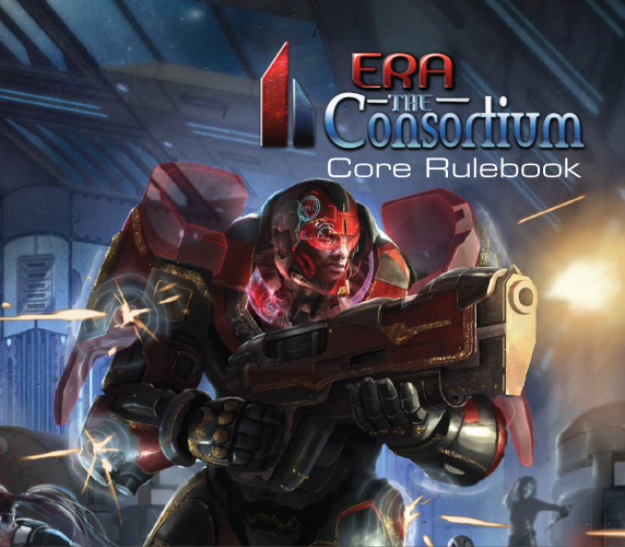 Era The Consortium rule book front cover