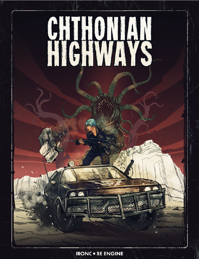 Cover of Cthonian Highways