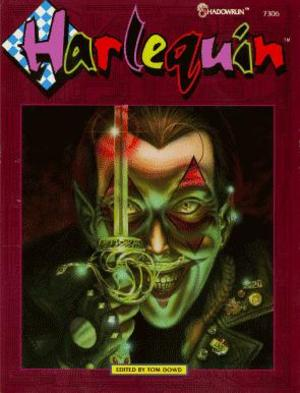 Cover of Shadowrun module Harlequin