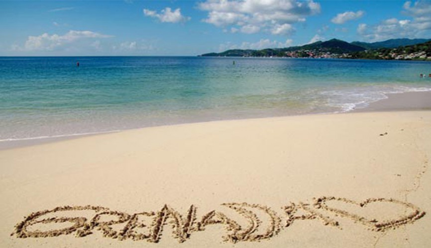 Image of a beach in Grenada