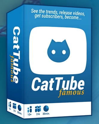The Kickstarter image for CatTube Famous