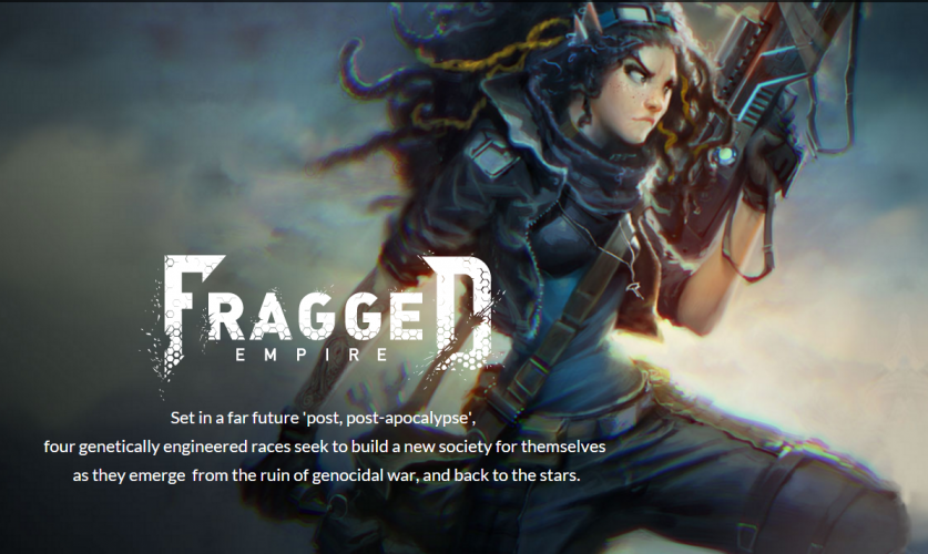 Home page of Fragged Empire
