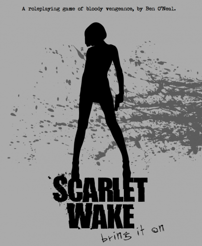 The cover of Ben O'Neal's Scarlet Wake