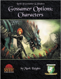 Cover of Lords of Gossamer and Shadow Diceless RPG