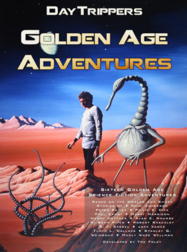 Cover of Golden Age Adventures