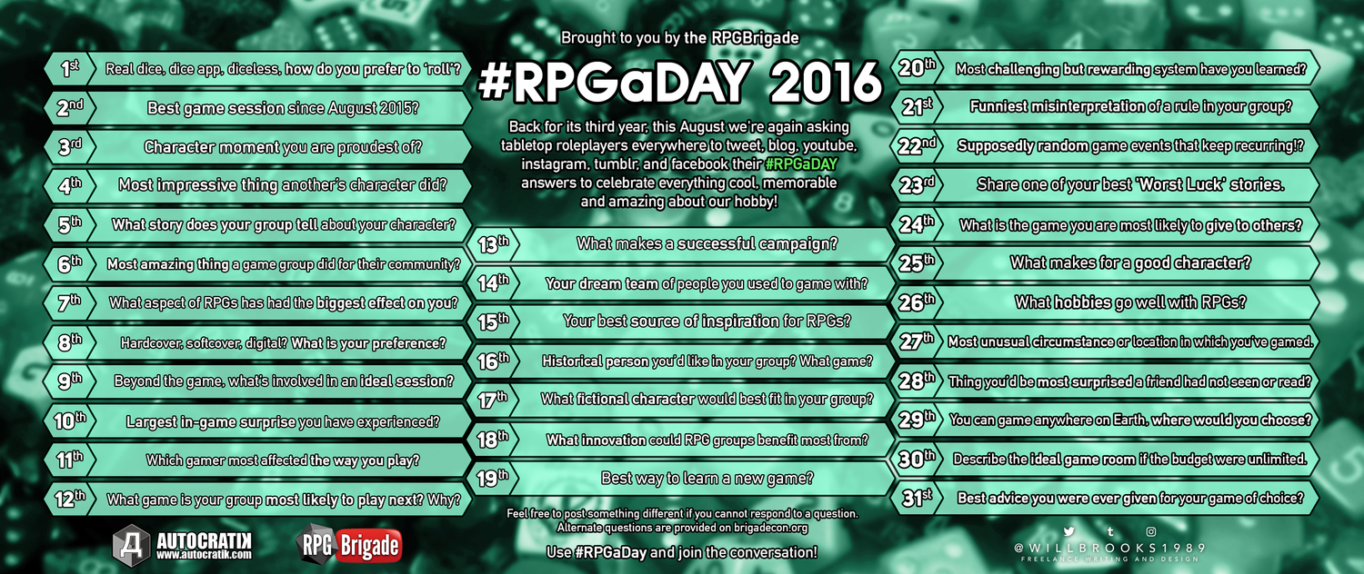 #RPGaDay