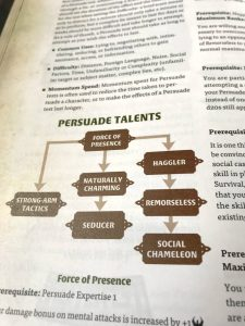 Persuade skill talent tree