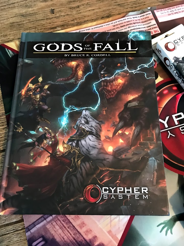 Gods of the Fall Cypher System supplement