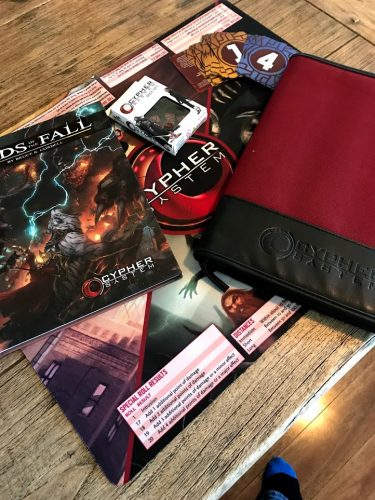 second hand cypher system package