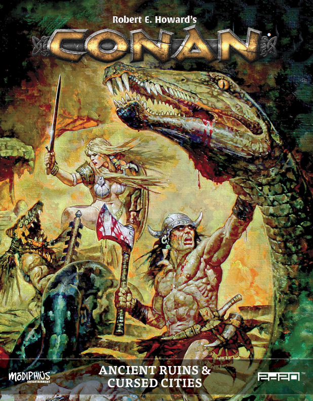 Conan Ancient Ruins and Cursed Cities