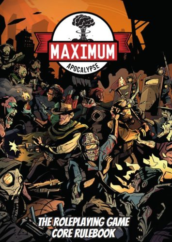 Maximum Apocalypse RPG - The Kickstarter